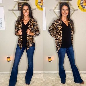 Chic Leopard Blazer